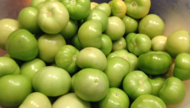 Making Tomatillo Salsa/Green Enchilada Sauce